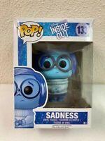 Funko Pop! Disney Pixar Inside Out Sadness #133 Vinyl Figure 2015 Vaulted