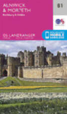 Alnwick & Morpeth Rothbury & Amble Landranger Map 81 Ordnance Survey 2016