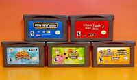 Dr Seuss, Tak, Spongebob, Odd Parents, Kids Next Door Nintendo Game Boy Advance