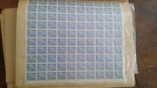 Canadian stamps full sheet of 100 MNH, Jet Plane 1964 8c blue #436