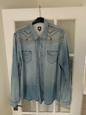 Pretty Green Denim Shirt XXL