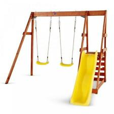 Tamarin Wooden Play Centre - kids swing and slide set - by Plum (RRP£399)