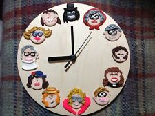 Clock League Of Gentlemen Handmade Wall Clock Gift Ideas Papa Lazarou Pauline