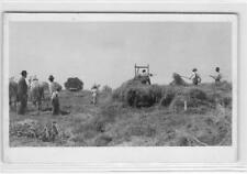 RPPC Developed Land San Joaquin County, CA Farming Scene c1910s Vintage Postcard