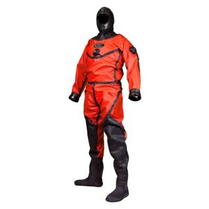 Aqua Lung Enviro Red Drysuit, New, size XL, Full Warranty