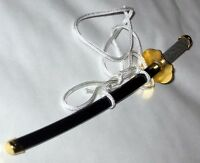 Japanese Doll Miniature KATANA Sword Tsuba 15cm Hina
