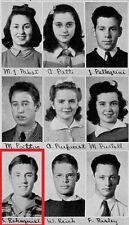 1940s Supreme Court Chief Justice William Renquist High School YB~John Fiedler~+