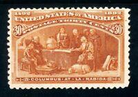 USAstamps Unused FVF US 1893 Columbian Expo La Rabida Scott 239 OG MLH