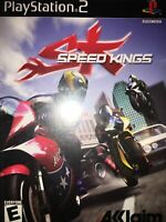 Speed Kings (Sony PlayStation 2, 2003) Complete With Manual