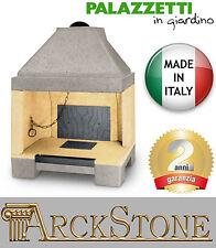 ARCKSTONE Camino Legna Aria Aperto Refrattario Palazzetti in Giardino Palex G86