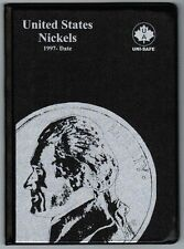 Uni-Safe United States US Nickels 5 Cents Coin Album Folder 1997-Date USA