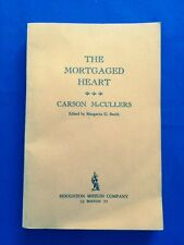 THE MORTGAGED HEART - UNCORRECTED PROOF BY CARSON MCCULLERS GORE VIDAL'S COPY