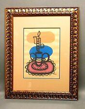 Amelia Peláez painting appraised @ $12K w/COA Cuban master