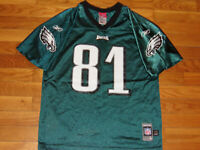REEBOK PHILADELPHIA EAGLES TERRELL OWENS NFL FOOTBALL JERSEY BOYS LARGE 14-16