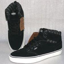 Vans Atwood HI MTE Rauleder Sneaker Herren Schuhe Boots EU 42 US9 Schwarz Weiß