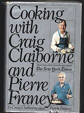 Cooking with Craig Claiborne and Pierre Franey Cookbook Recipes 1983