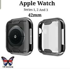 Apple Smart Watch Black Screen protector Protective Case Face Cover S 123. 42mm