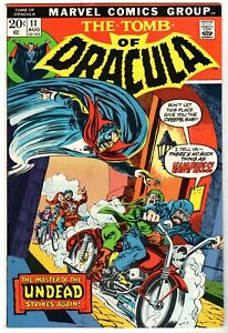 Tomb of Dracula #11, Near Mint Minus Condition