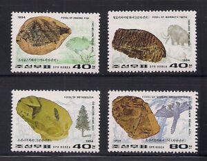 Korea.. 1994  Sc # 3368-71  Fossils   MNH  OG   (3-5495)