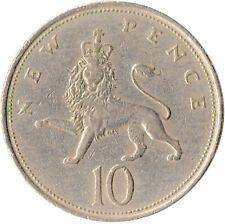 1969 LARGE 10P COIN ELIZABETH II.  #WT4276