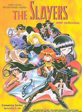 SLAYERS- DVD Collection (DVD, 4-SEPERATE-Disc Set)- complete series NEW  BOX SET