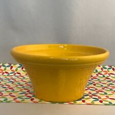 Fiestaware Daffodil Hostess Bowl Fiesta Bright Yellow 40 oz Serving Bowl