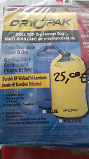 JET SKI SEA DOO  DRYPAK ROLL TOP SACCA STAGNA BLUE 9,5X16IN. PWC HAUT ROULLANT