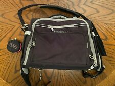 Ju Ju Be Black/Gray Diaper Bag with Skip Hop Changing Pad - Used Mint Condition