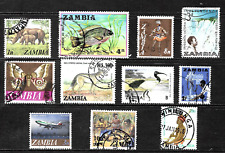 Zambia ... Good stamps .. 2954
