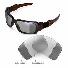 WL Polarized Transition/Photochromic Replacement Lenses For Oakley Oil Drum II