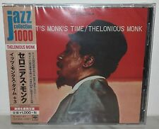 CD THELONIOUS MONK - IT'S MONK'S TIME - JAPAN SICP 4036