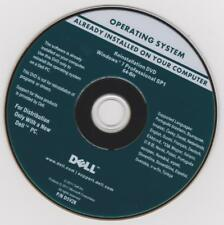 DVD installation windows 7 pro DELL 64 bit SP1 + clé activation (autocollant)