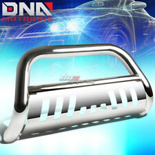 FOR 16-17 PILOT SUV/RIDGELINE GEN2 STAINLESS STEEL CHROME BULL BAR GRILL GUARD