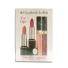 Elizabeth Arden Lipstick and Lipgloss 4PC Full size lipstick and shine lip gloss