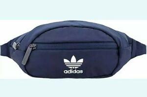 adidas Originals Unisex Adult National Waist Pack Fanny Pack, Collegiate Navy
