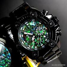 Invicta Reserve Grand Arsenal Octane Abalone Black Full Size 63mm Watch New