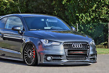 Cup Spoilerlippe für Audi S1 A1 8X Sportback Front Spoiler Schwert S-Line IN