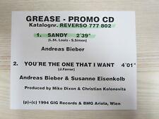 CD / GREASE-PROMO / SANDY / CHRISTIAN KOLONOVITS / ANDREAS BIEBER / RAR /