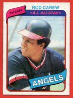 1980 O-Pee-Chee #353 Rod Carew EX-EXMINT+ California Angels HOF FREE SHIPPING