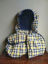 "Tollytots Graco Toy Pretend Baby 16"" Bassinet, 7""Tote And 10""Carrier"