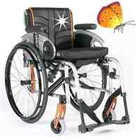 SOPUR Easy Life  Swing Away Adaptivrollstuhl faltbar Rollstuhl