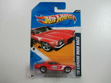 2012 '70 Camaro Road Race #144 Hot Wheels Die Cast Car Performance 4/10 Carded