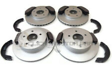 FOR NISSAN X-TRAIL 2.0 2.2 DCi 2.5 SPORT FRONT & REAR BRAKE DISCS & PADS & SHOES