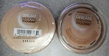 2PK MAYBELLINE DREAM SMOOTH MOUSSE FOUNDATION 110 PORCELAIN IVORY  IMPERFECT