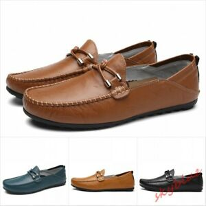 Mens Slip On Loafers Casual Driving Shoes Moccasin Gommino casual flats Shoes