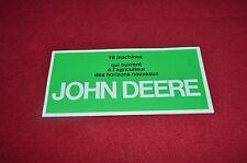 John Deere 4020 3120 2120 1120 820 Tractor Dealers Brochure GDSD Printed Germany