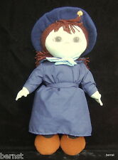 """1987 GIRL SCOUT OFFICIAL 12"""" BURRY COOKIE ANNIVERSARY DOLL  - ESTATE LIQUIDATION"""