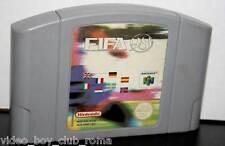 FIFA 98 GIOCO USATO N64 SOLO CARTUCCIA EDIZIONE ITALIANA STATO ACCETTABILE PAL