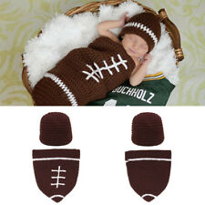 Newborn Baby Photography Photo Prop Hat Cap Set Outfit Crochet Knit Costume