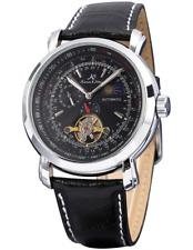 KS ks068-amus – Wristwatch men's, Leather Strap Black